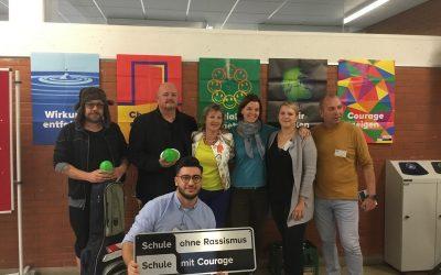 """BNE-Tag 2018: Die Marie-Baum-Schule ist eine """"Schule ohne Rassismus – Schule mit Courage"""""""