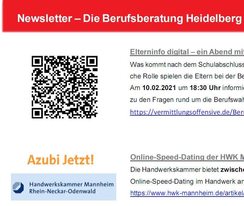 Die Berufsberatung Heidelberg informiert