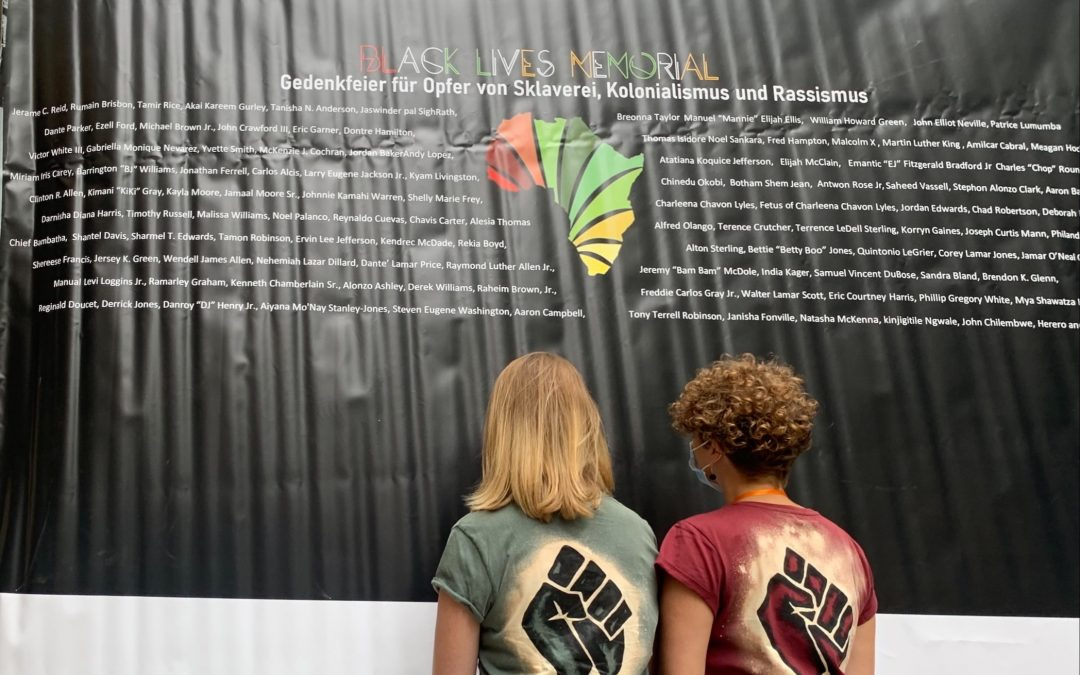 Black Lives Matter: BLM Heidelberg Konferenz 2021