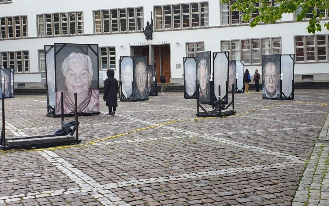 """""""Gegen das Vergessen"""" – Viele nachdenkliche Eindrücke nach Ausstellung und Workshop über den Holocaust"""